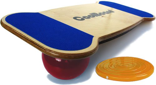 CoolBoard Balance Board Ultimate Package - Large - Quickness Pro Ball incl. Balance Disc