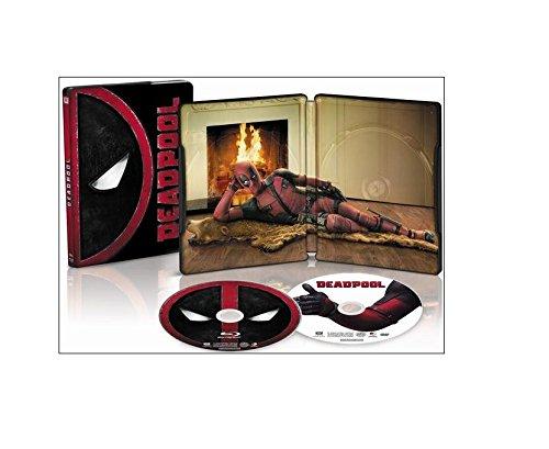 Deadpool Limited Edition Exclusive Steelbook (Blu Ray + DVD + Digital HD)