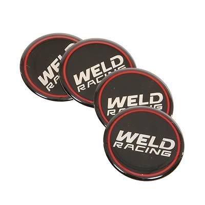 Weld 601-3015 Wheel Center Cap Racing Emblem 4-pack