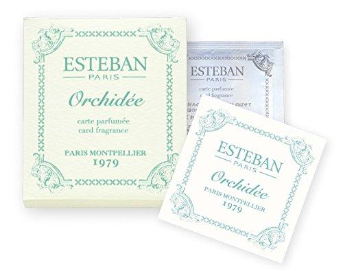 エステバン カードフレグランス オルキデ