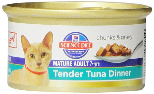 Hill's Science Diet Mature Adult Tender Tuna Dinner