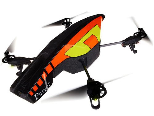 Parrot AR.Drone 2.0 Quadricopter Controlled by iPod touch, iPhone, iPad, and Android Devices (Orange/Yellow)