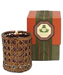 Mission Fig Perfume Woven Cane Candle by Agraria