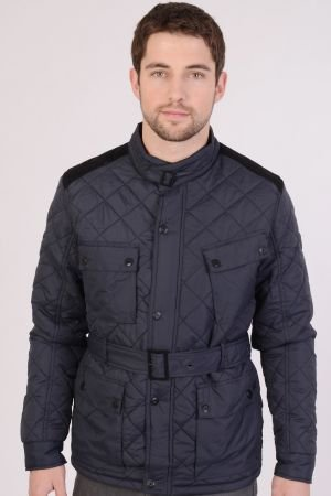 Mens Quilted Diamond Jacket