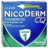 NICODERM CQ CLEAR 21MG 14EA GLAXO SMITHKLINE CONSUMER