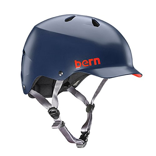 Bern Unlimited Watts EPS Summer Helmet, Matte Navy Blue, XX-Large/3X-Large