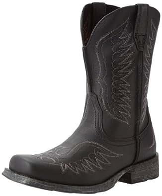 Ariat Men's Rambler Phoenix Equestrian Boot,Black Pepper,7 M US