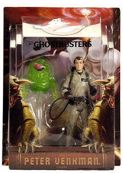 41KYw5eM02L Cheap Price Mattel Ghostbusters Exclusive 6 Inch Action Figure Peter Venkman with Slimer