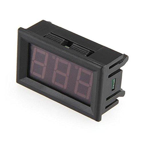Digital Ammeter Amp Panel Meter Amperemeter 0-100A Red Led