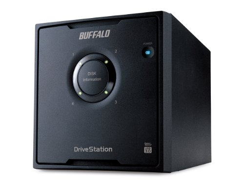 Buffalo DriveStation Quad 8.0TB USB3.0 External 4 Hard Disk Drive with RAID