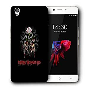 Snoogg Painting The Roses Red Designer Protective Back Case Cover For ONEPLUS X