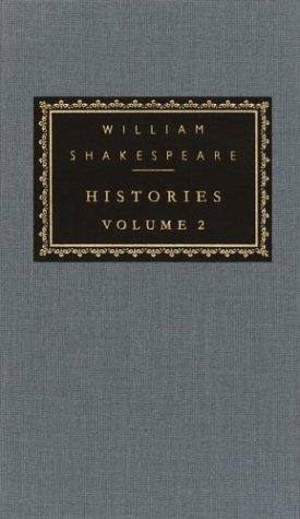 Histories, vol. 2 : Volume 2 (Everyman's Library (Cloth)) [Hardcover], WILLIAM SHAKESPEARE, TONY TANNER, SYLVAN BARNET
