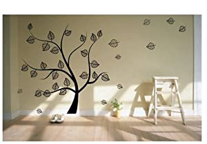 decoration wall sticker wall mural decor tree kitchen