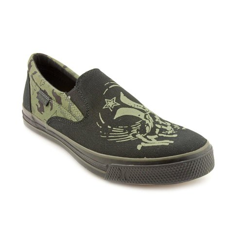 Hurley Slip Mens Size 11 Green Loafers Shoes