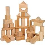 Small World Toys Ryan's Room Wooden Toys - Bag O' Blocks, Natural Wood