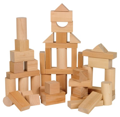 Small World Toys Ryan's Room Wooden Toys - Bag O' Blocks, Natural Wood (Building Toys For Preschoolers compare prices)