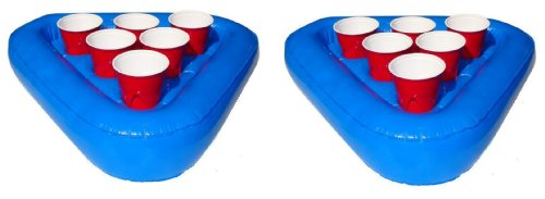 Why Choose The Go Pong Pool Pong Rack Floating Beer Pong Set, Includes 2 Rafts and 3 Pong Balls
