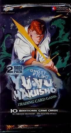 Yu Yu Hakusho Ghost Files 1st Edition Trading Card Pack
