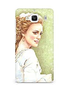 Amez designer printed 3d premium high quality back case cover for Xiaomi Redmi 2 Prime (Pure beauty)