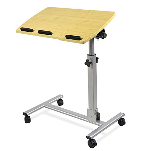 yahee pflegetisch laptoptisch betttisch beistelltisch auf. Black Bedroom Furniture Sets. Home Design Ideas