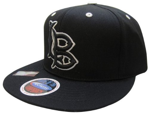NCAA Long Beach State 49ers Logo Blackout Style Snapback Hat, Black at Amazon.com