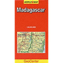World Map Madagascar