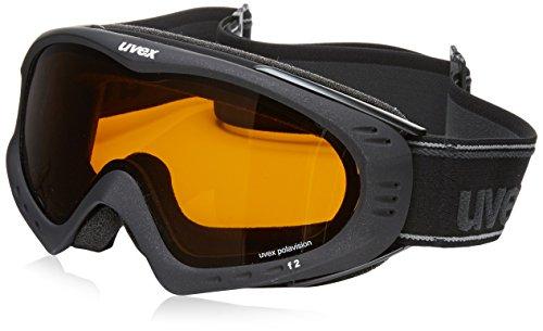 UVEX-Skibrille-F-2-pola-Black-Met-MatLasergold-Lite-One-size-S5500422121