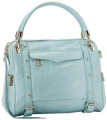 Rebecca Minkoff Cupid Shoulder Bag,Baby Blue,One Size