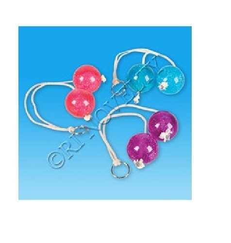 You Get 1 Clackers Balls on a String- Colors May Vary
