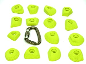 Buy Prinz Climbing Holds - Set of 15 VERY SMALL Bolt on Foot Jibs by PRINZ