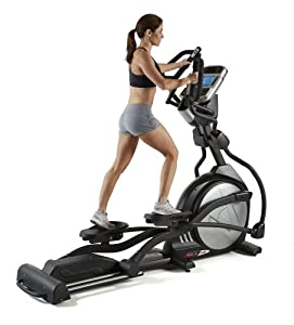 Sole Fitness E98 Light Commercial Elliptical Machine by SOLE