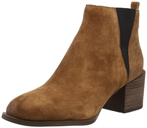 Nine West Eaden, Stivali donna Marrone Brown (Dark Nut/Black) 39 1/3