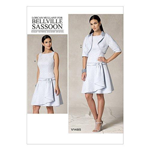 v1485-patron-de-couture-vogue-a-coudre-elegant-extravagant-moderne