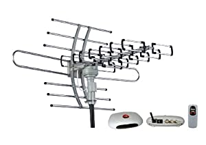 Esky HG-981 Remote Controlled Amplified VHF UHF Outdoor HDTV Hd Rotor Tv Antenna 360 Rotation