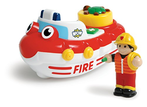 WOW Fireboat Felix - Bath Toys (2 Piece Set) - 1