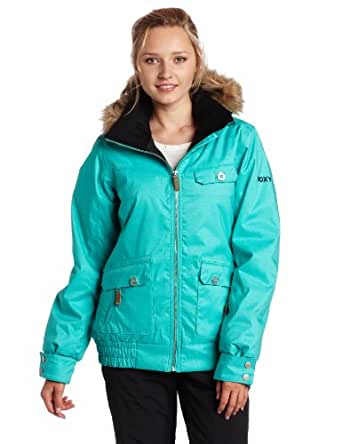 Roxy Snow Juniors Miracle Snow Jacket, Ceramic, X-Small at
