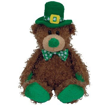 Ty Beanie Babies Patty O' Lucky - Irish Bear (Ty Store Exclusive)