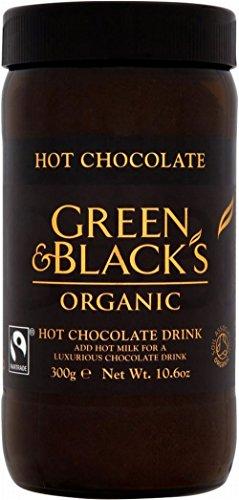 Green & Black's Organic Fairtrade Hot Chocolate Drink (300g)