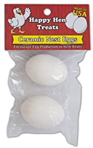 Happy Hen Treats Ceramic Nest Eggs