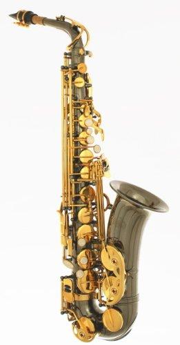 Orpheo Black Nickel Eb Alto Saxophone
