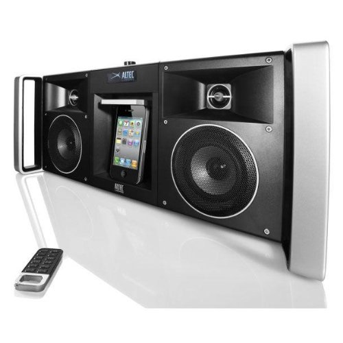 Altec Lansing inMotion Portable BoomBox for iPod and iPhone with FM Tuner and 7-Point Graphic Equalizer