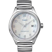 Timex Men's Watch with Mop Dial and An Expander - T2N408