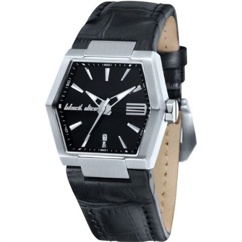Black Dice BD05501 Black Leather Strap Watch