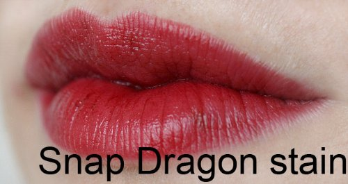 Super Staying Lip Stain - Snap Dragon Red - Morpho Cosmetics, Long Lasting Lip Stain
