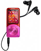 SONY ウォークマン Sシリーズ [メモリータイプ] 8GB ビビットピンク NW-S754/P