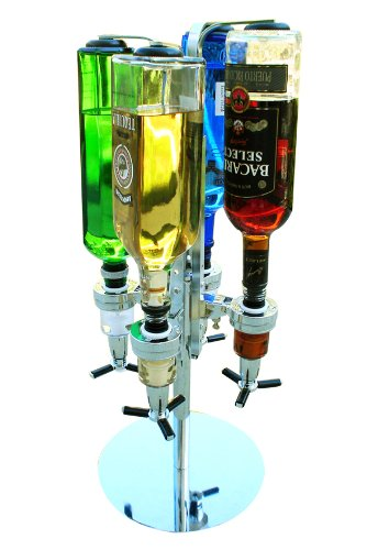 Super Deal - Bar Boy 4 Bottle Alcohol Dispenser (Packages of FOUR Bar Boys) in One Case Special