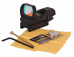 Ultimate Arms Gear Tactical 4 Reticle Red Dot Open Reflex Sight with Weaver-Picatinny Rail... by Ultimate Arms Gear
