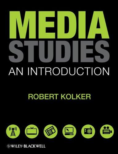 Media Studies: An Introduction