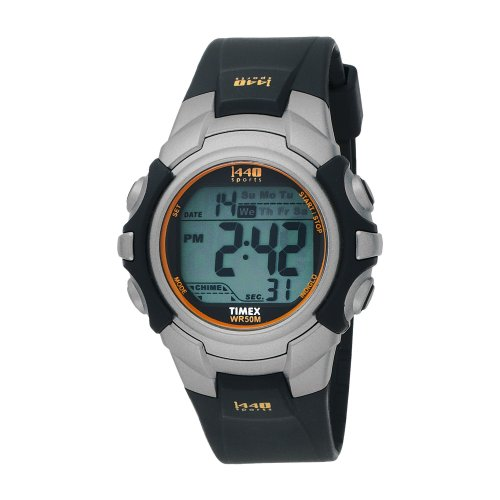 Timex Mens 1440 Sports Resin Strap Watch - T5J5614E