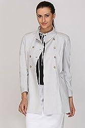 Kaaryah - Beige Full Sleeves Jacket